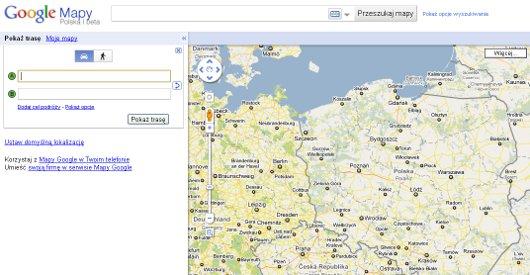 Mapy Internetowe I Planowanie Trasy Podrozy Z Auta24 Com Auta24